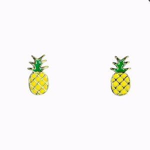 🆕 Pura Vida: Pineapple Stud Earrings